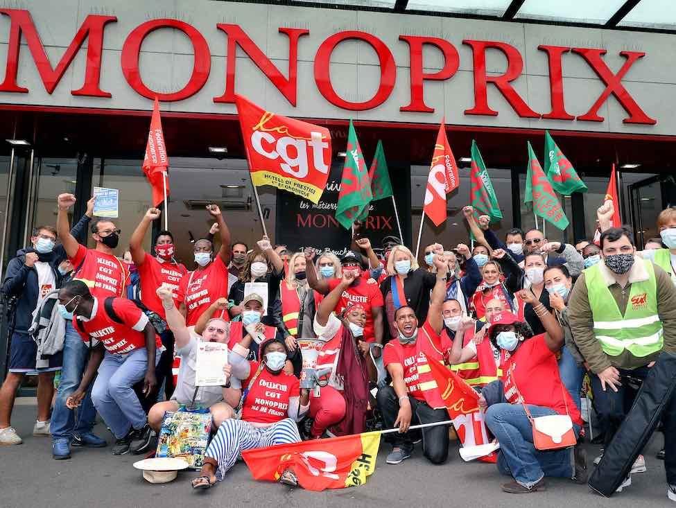 La CGT appelle les salariés des Monoprix à se mobiliser lors des « Samedis de la révolte »