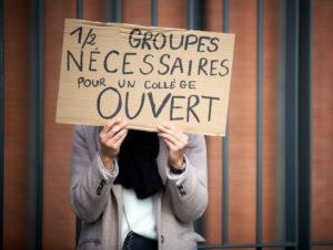 Appel à la grève sanitaire dans les écoles et lycées le 10 novembre
