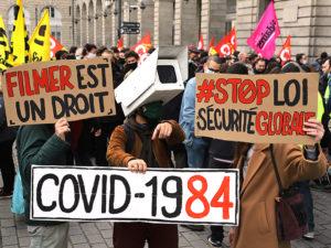 VIDÉO Manifestations à Paris et en régions contre la loi «sécurité globale»