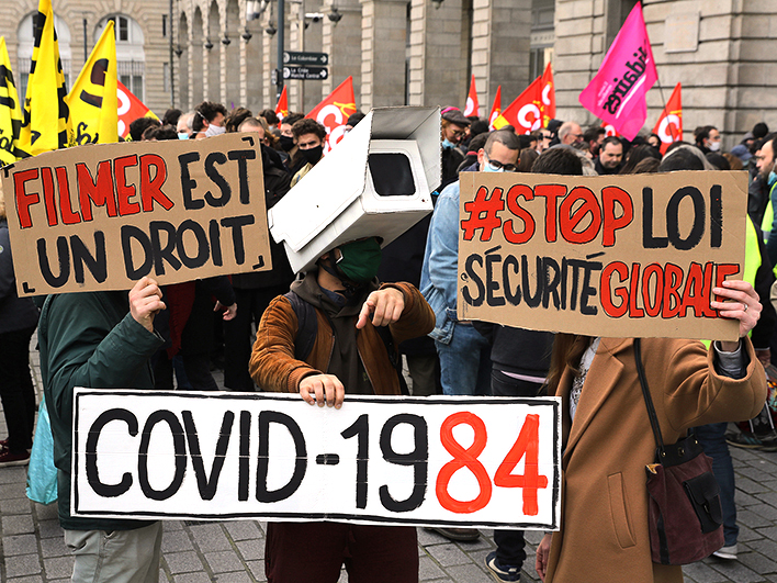 VIDÉO Manifestations à Paris et en régions contre la loi « sécurité globale »