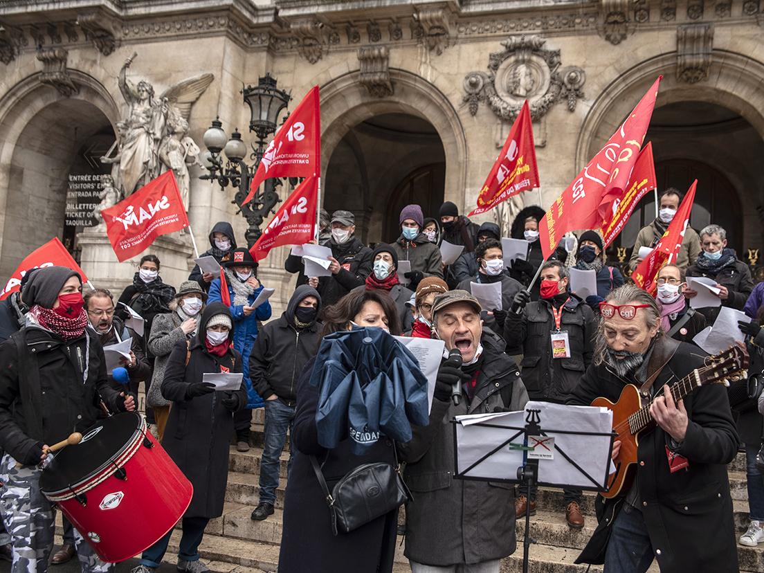 Manifestations pour sauver la culture