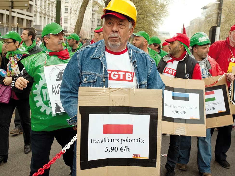 Europe : la bataille du salaire minimum