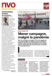 URIF 3595 - Mener campagne, malgré la pandémie