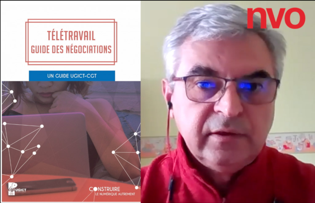 Entretien avec Jean-Luc Molins (CGT Cadres et Techniciens) sur le télétravail