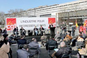 La CGT engage une campagne nationale pour la reconquête industrielle