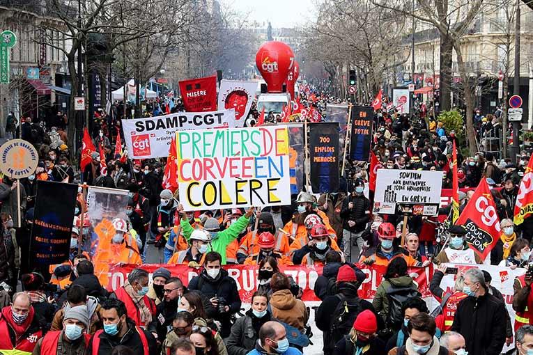 Vidéo - 165 manifestations et rassemblements en France le 4 février