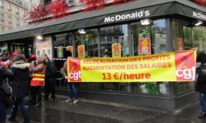 Des cadres de McDonald's entendus récemment en garde à vue pour blanchiment de fraude fiscale en bande organisée