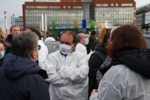 Nouvelle mobilisation des professionnels de Sanofi qui casse sa recherche