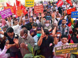 Les travailleurs contre la politique du gouvernement de Narendra Modi