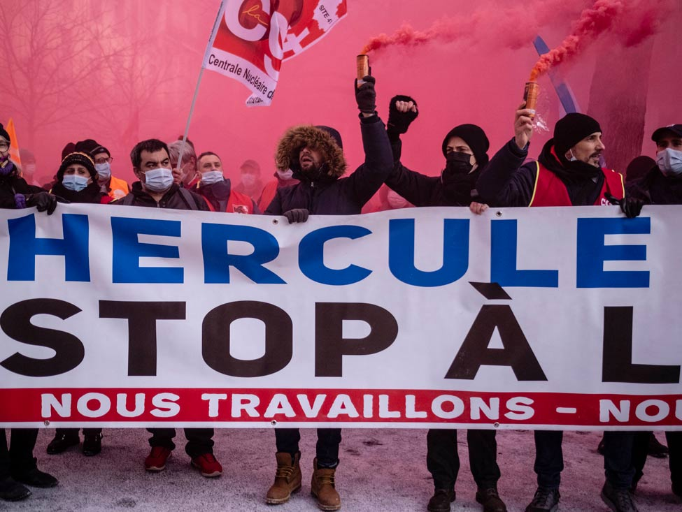 EDF : l'interfédérale appelle à la mobilisation le 8 avril contre Hercule