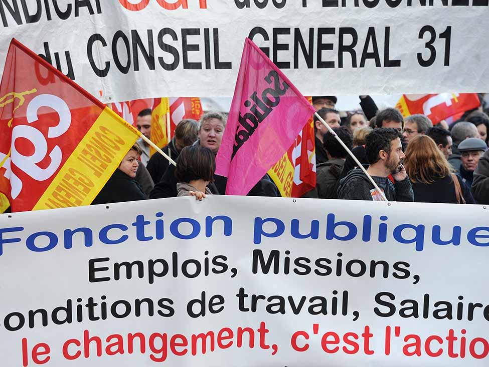 Salaires, emploi, missions : la fonction publique est appelée à se mobiliser le 6 avril