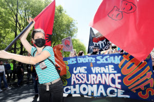 Vidéo - Des milliers de manifestants contre la réforme de l'assurance chômage