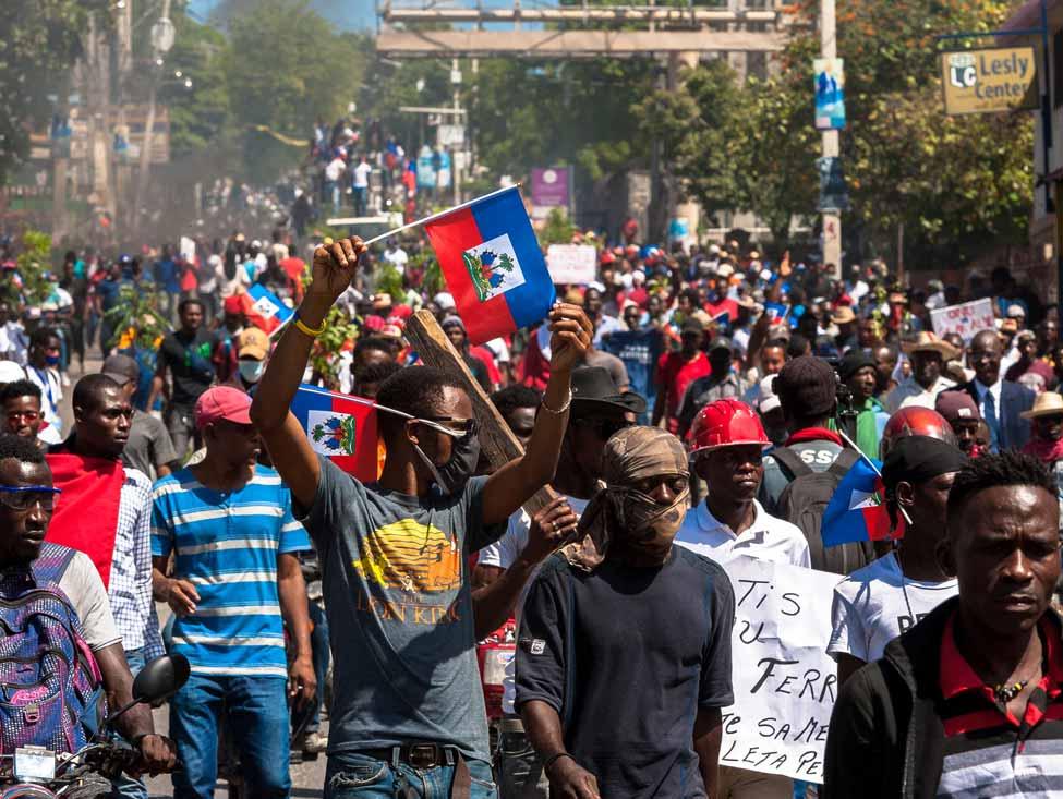 Solidarité face au régime de Jovenel Moïse