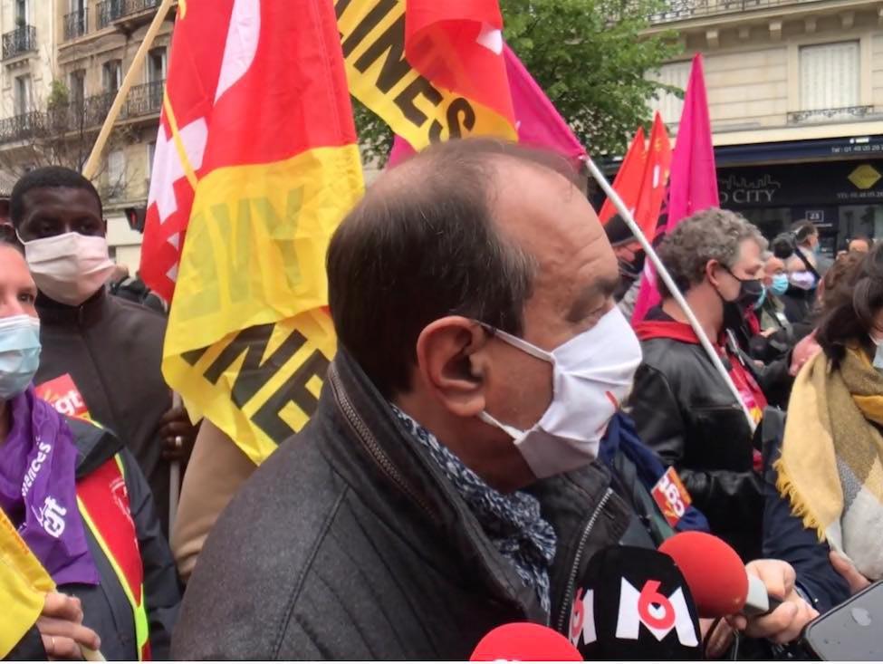 Manifestation du 1er-Mai 2021 à Paris