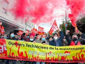 La CGT RATP dénonce les choix de la direction du groupe sur la maintenance à Sucy-en-Brie