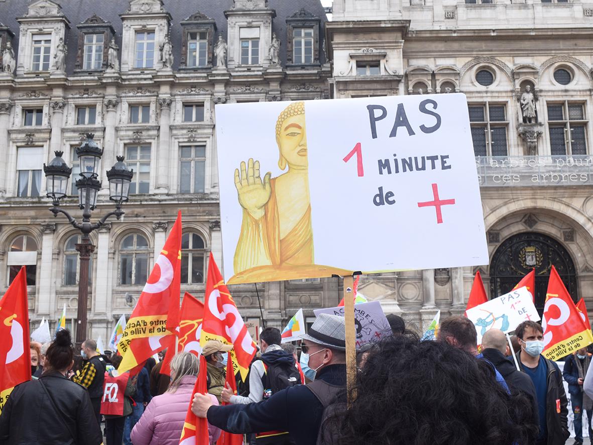 Contre l'allongement du temps de travail, les territoriaux de Paris arrachent une première concession