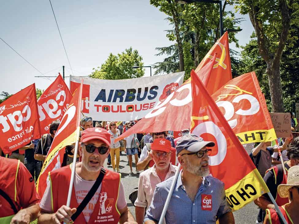 Airbus tousse, la région s'enrhume