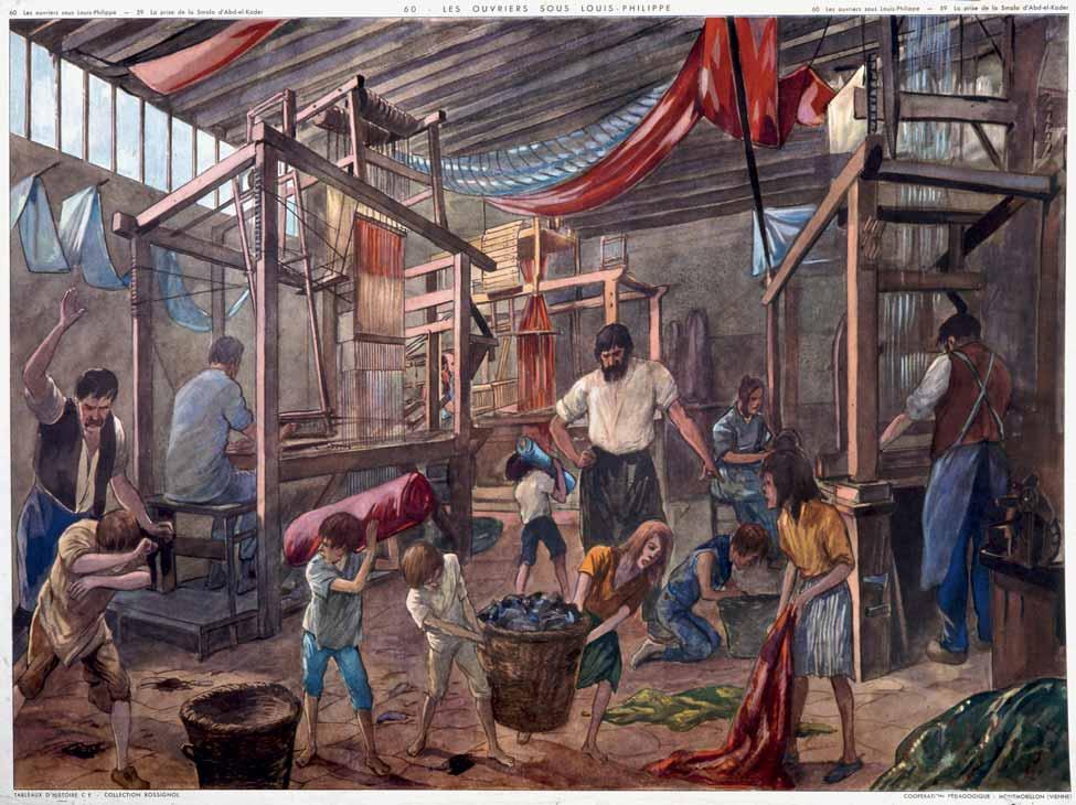 Les Canuts, un mouvement ouvrier précurseur
