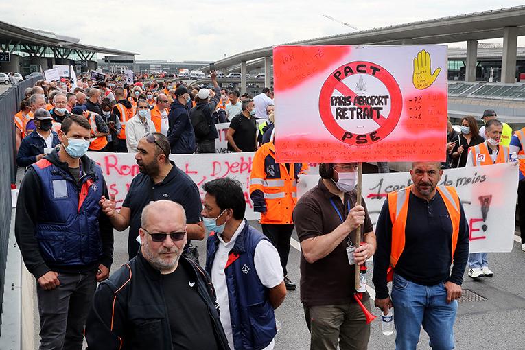 Aéroports de Paris : les préavis de grève maintenus pour vendredi et samedi