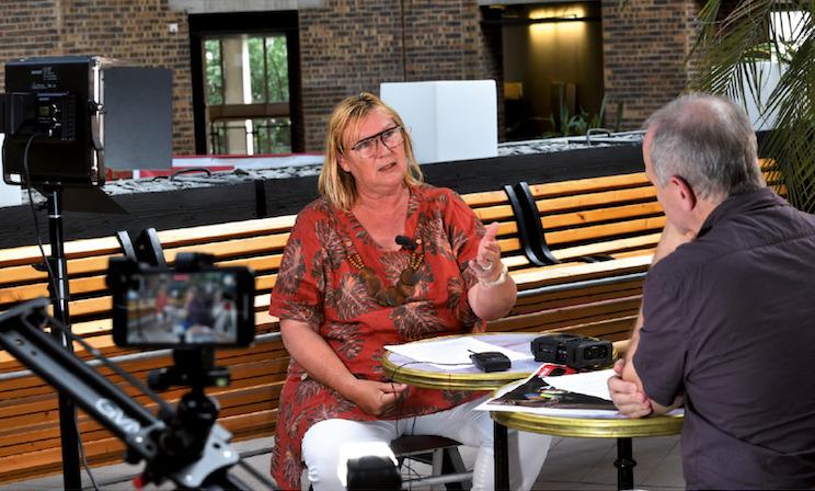 Vidéo - Interview de Catherine Perret, secrétaire de la CGT