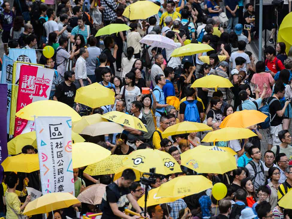 Hong Kong : dissolution de la Confédération syndicale