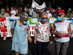Une centaine de manifestations unitaires de retraités annoncées pour le 1er octobre