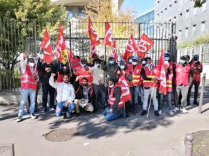 Grève au centre de tri parisien de Veolia déchets, pour les salaires et l'égalité salariale